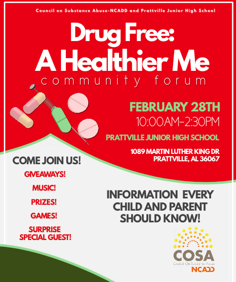 "Drug Free: A Healthier Me"" Community Forum – Council on"